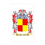 Manvell Sticker (Rectangle 50 pk)