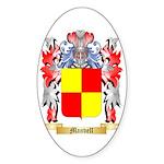 Manvell Sticker (Oval 50 pk)