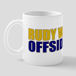 Rudy Offsides Mug