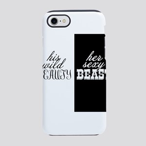 his wild beauty, her sexy beast iPhone 8/7 Tough C