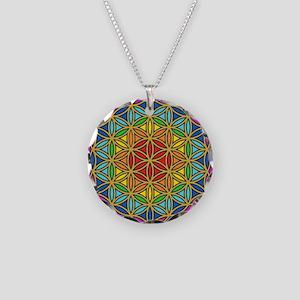 Chakra6 Necklace Circle Charm