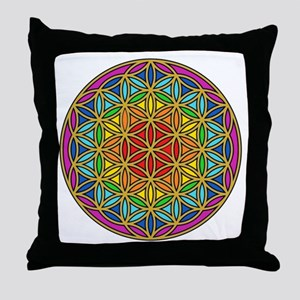 Chakra6 Throw Pillow
