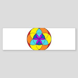 Seed of Life Chakra Sticker (Bumper)