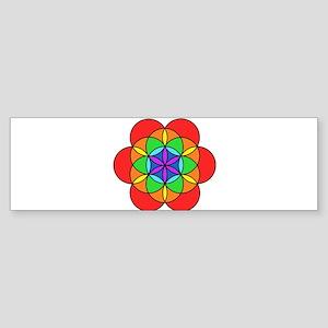 Seven Chakra Seed of Life Sticker (Bumper)
