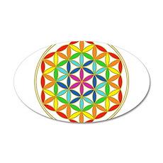 Flower of Life Chakra Wall Sticker