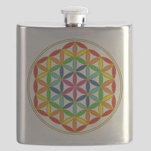 Flower of Life Chakra Flask