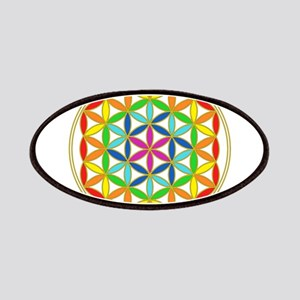 Flower of Life Chakra Patch