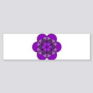 Crown Seed of Life Sticker (Bumper)
