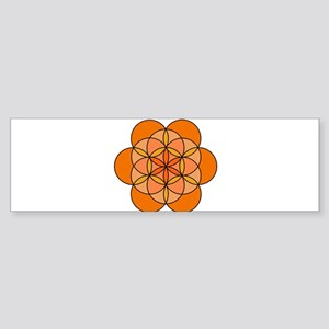 Sacral Seed of Life Sticker (Bumper)