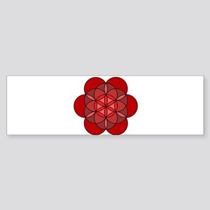 Root Seed of Life Sticker (Bumper)