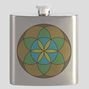Seed of Life Earth3 Flask