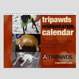 Tripawds Wall Calendar #15 - New For 2016