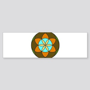 Seed of Life Earth Sticker (Bumper)