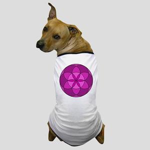 Seed of Life MultiViolet Dog T-Shirt