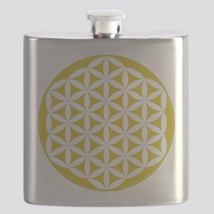 flower of life gold Flask