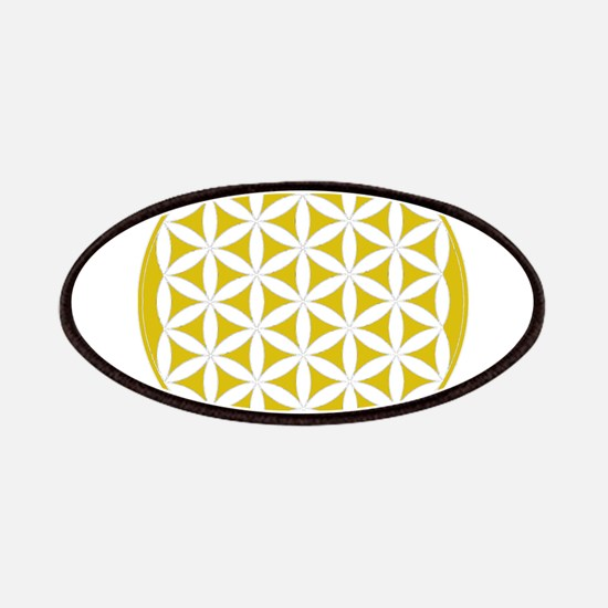 flower of life gold Patch