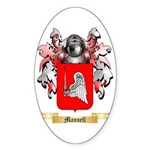 Manuell Sticker (Oval 10 pk)