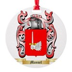 Manuel Round Ornament