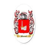 Manuel Oval Car Magnet