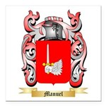 Manuel Square Car Magnet 3