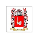Manuel Square Sticker 3