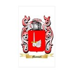 Manuel Sticker (Rectangle 10 pk)