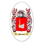Manuel Sticker (Oval 10 pk)