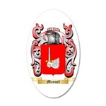 Manuel 35x21 Oval Wall Decal