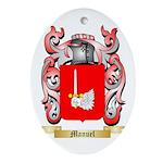 Manuel Oval Ornament