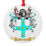 Manton Round Ornament