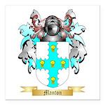 Manton Square Car Magnet 3