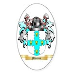 Manton Sticker (Oval 50 pk)