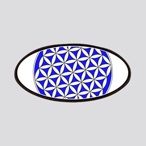 Flower of Life Blue Patch