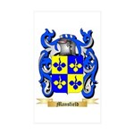 Mansfield Sticker (Rectangle 50 pk)