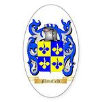 Mansfield Sticker (Oval 50 pk)