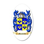 Mansfield 20x12 Oval Wall Decal