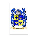 Mansfield 20x12 Wall Decal