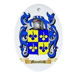 Mansfield Oval Ornament