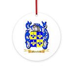 Mansfield Round Ornament