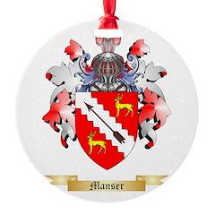 Manser Ornament
