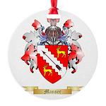 Manser Round Ornament