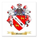 Manser Square Car Magnet 3