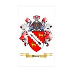 Manser Sticker (Rectangle 50 pk)