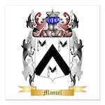Mansel Square Car Magnet 3