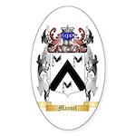 Mansel Sticker (Oval 50 pk)