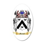 Mansel 20x12 Oval Wall Decal