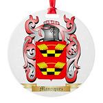 Manriquez Round Ornament