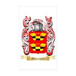 Manriquez Sticker (Rectangle 50 pk)