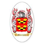 Manriquez Sticker (Oval 50 pk)