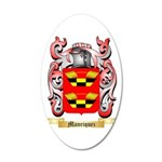 Manriquez 20x12 Oval Wall Decal
